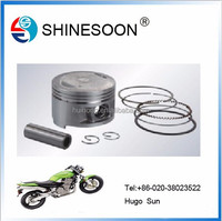 2015 new Factory price motorcycle engine piston for YBR125