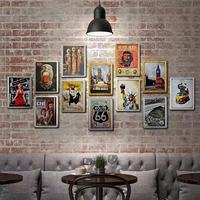 China wholesale metal signs hot sale vintage retro tin signs for home wall decoration