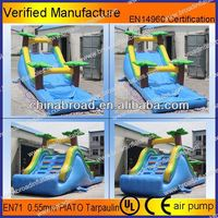 Durable water slide,inflatable slide rental for adult and kids