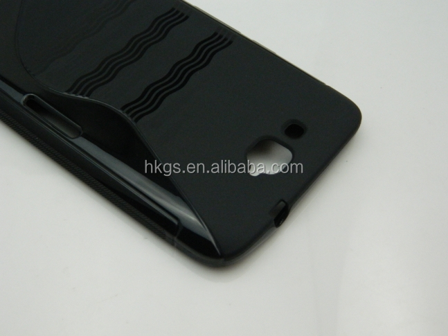 Tpu S Line Wave Gel Case Cover For Alcatel One Touch 8020 OT 8020D For TCL N3 Y910