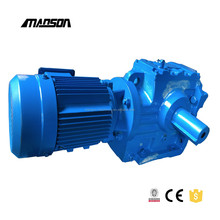 Types Of Mechanical Gears Box S Series Reduction Gear Box With Electric Motor