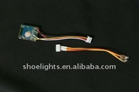 waterproof led shoes light with cable jointer