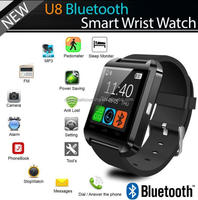 Hot Sale Bluetooth Smart Wrist Watch Phone Mate For Android and IOS Smart Watch U8