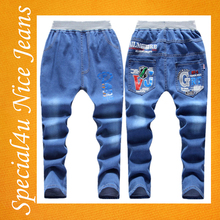 Hot selling boys jeans embroidery designs cool jeans model boys good quality stock clothes wholesale price SA-743