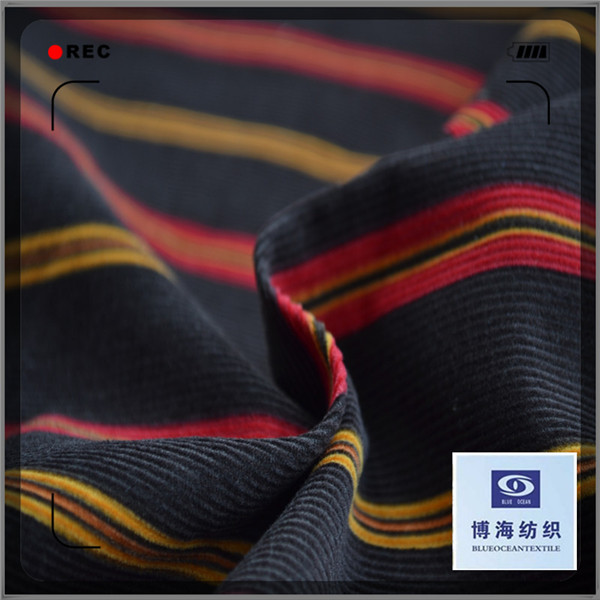 wide wale cotton corduroy fabric for garment