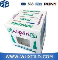 High quality plastic pp fruit packaging boxes vegetable packaging boxes