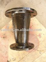 double flange taper fitting