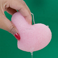 2014 newest square konjac cleaning sponge pads