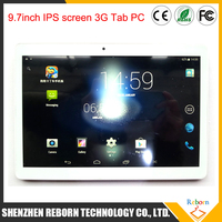 1280*800 ips screen 1gb memory 3g 9.7 inch tablet android