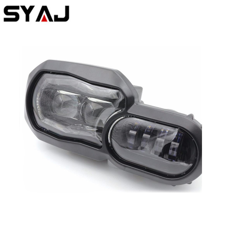 Auto lighting system halo angel eye led projector motorcycle headlight for BMW F700GS f800gs led headlight