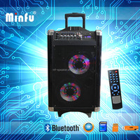 2015 big bass speaker with bluetooth moonlight