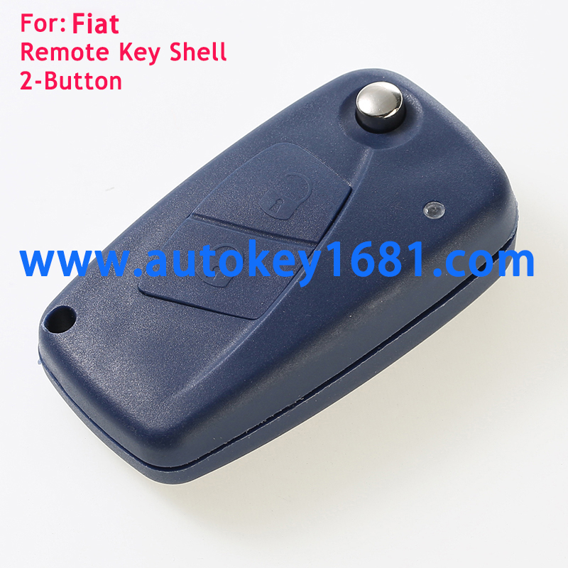flip key case 2 button for Fiat Panda Ducato Van bule remote key shell
