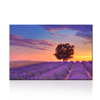 Framed Purple Lavender Autumn Contemporary Wall Art Canvas for Living Room Nature Canvas Artwork Ready to Hang