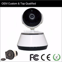 Network Mini IP CCTV Dome Digital IP Smart Cameras Small with SD Card TF Card HD Wireless PTZ Pan and Tilt WIFI P2P Camera