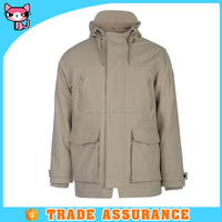 Coated fabric Waterproof and windproof fancy jackets for men