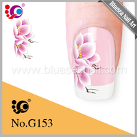 High quality promotional nail art design stencil/nail design made in China