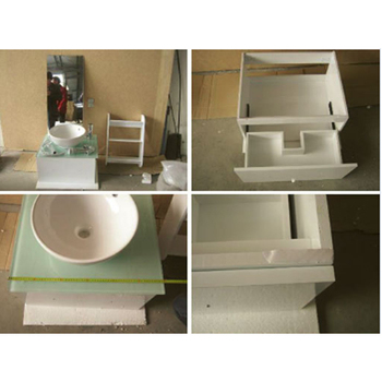 Production Monitoring of Bathroom cabinet in Xuancheng /Wuhu