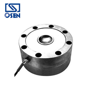Steel compression load cell for weighing scales