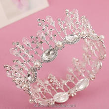 new coming fully round <strong>crown</strong> wedding/party crystal full round <strong>crown</strong>