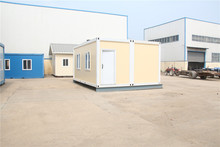 prefabricated prefabricated luxury fast installation flat pack container office with flat roof