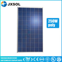 goods from china 30v 250 watt poly solar panel with best price