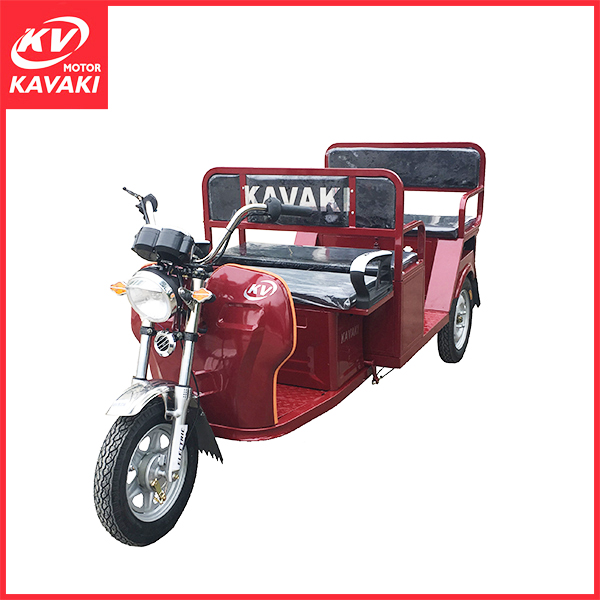 Green power bajaj three wheeler electrocar price wooden case packing on sale African