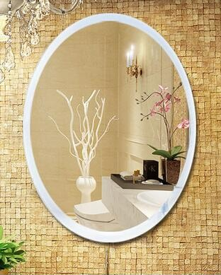 popular design and high quality 3D metal wall mirror decor