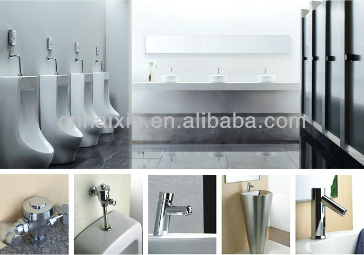 On-Floor, Wall Waste, Siphon Jet Stainless Steel Toilet for Front Mount