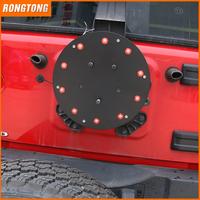 Metal Car LED Third Light Spare Tire Brake Light for Jeep Wrangler JK 07-17