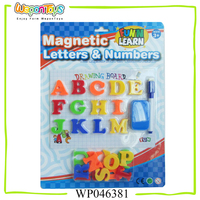 educational toys for kids learning words magnetic letters plastic letters for children