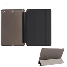 Ultra Slim Tri-folding Smart Leather Case Stand Tablet Cases For iPad 9.7 inch 2018