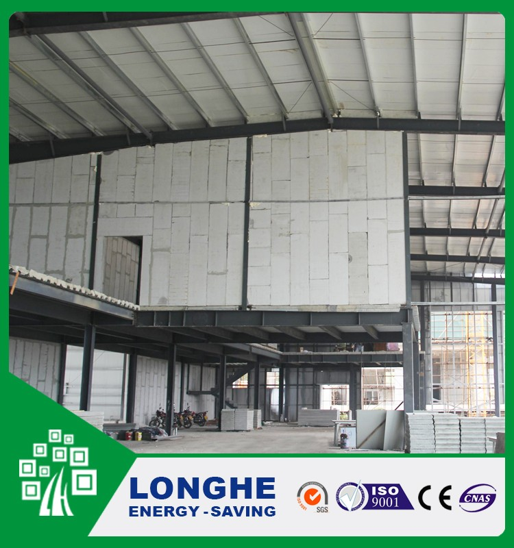 Eps Calcium Silicate Sandwich Panel China Low Cost Prefabricated Homes