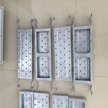 Tianjin Bearing Capacity Galvanized Perforated Structure Catwalk Walking Board Scaffolding Walk Strong Steel Plank