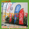 factory wholesale advertising feather teardrop banner