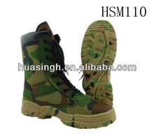 8 inch high quality tropical froest training sniper force wear camo hunting boots