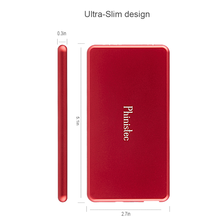 Power Bank, portable super slim Aluminum Alloy mobile beauty colorful 5000mAh battery charger pack for iphone 6