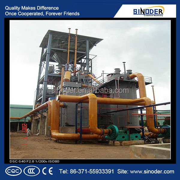 Provided energy saving Gas furnace/ Two stage coal gasifier to make coal gas
