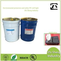 waterproof,dustproof isolating external particle and curing polyurethane resin