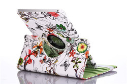High quality printing rotatable tablet leather case for 13.3 inch tablet pc