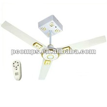 Low Discharge Battery Rechargeable Ceiling Fans with Remote Control