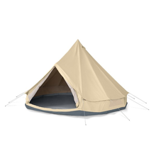 2018 Waterproof Cotton Canvas Family Camping Bell Tent