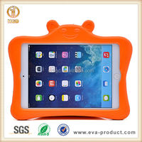 Customized kids shockproof tablet case for apple ipad silicone pc