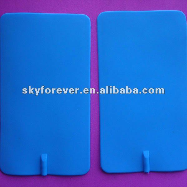 High quality conductive silicone rubber electrode Self-adhesive Silicone Electrodes Pad
