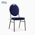 HC-922 wholesale hotel chair stacking round oval back price steel banquet chair for sale