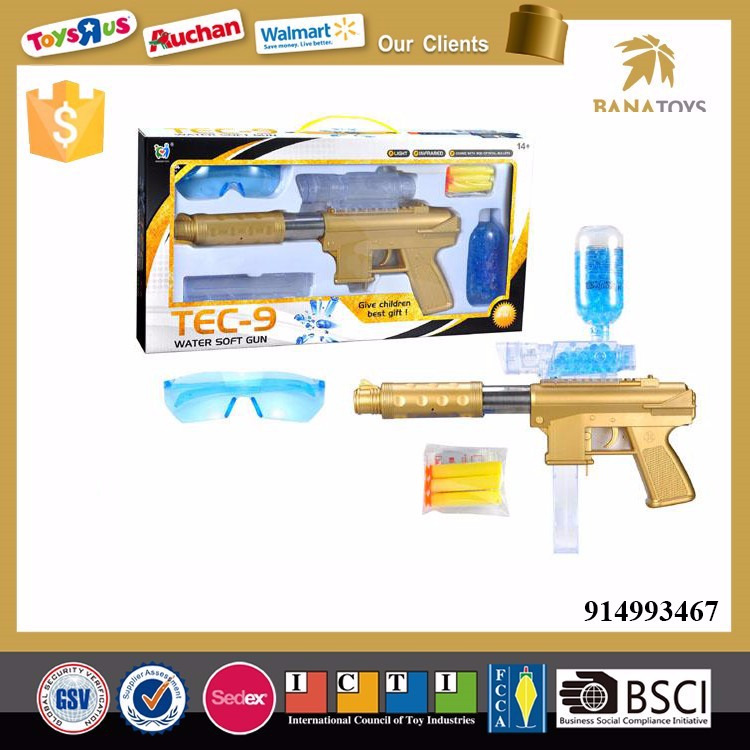 Soft Crystal water bullet gun toy with soft bullets