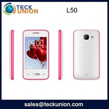 L50 3.5inch china factory no brand touch mobile cell phone whatsapp support