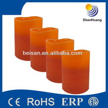 Decorative scented candle battery led candle wholesale with timer