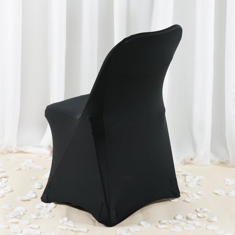 Factory price spandex chair cover folding chair cover for wedding decoration(Roger)