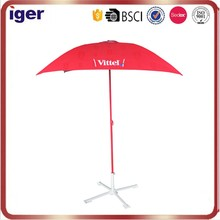 garden umbrella india delhi four panels square shape logo printed with tilt air-vent design