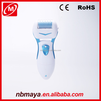 Electric Professional Foot Scrubber and Micro Pedicure File Tool foot file with long handle